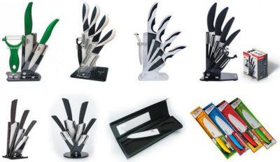 Керамічні ножі- набори