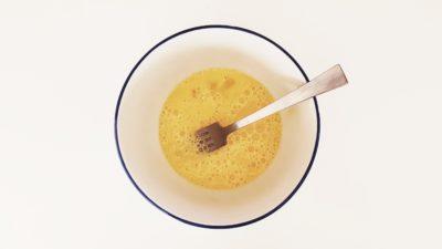Этап приготовления крема