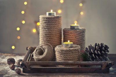 Еко свічник-ідеї подарунків