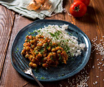 Популярное сочетание: бобовые и рис