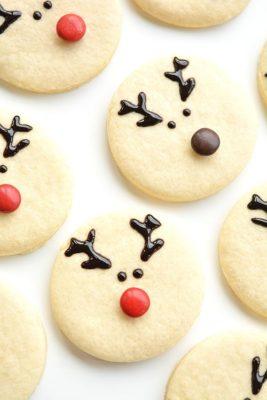 Цукрове печиво у формі оленів