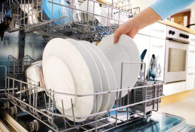 Посуд у посудомийці