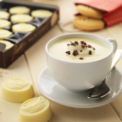 Білий гарячий шоколад