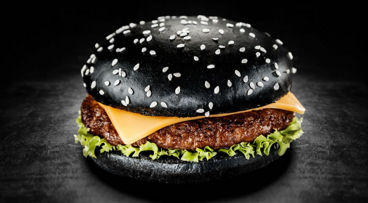 halloween-black burger