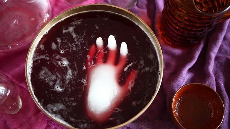 halloween-как украсить напитки
