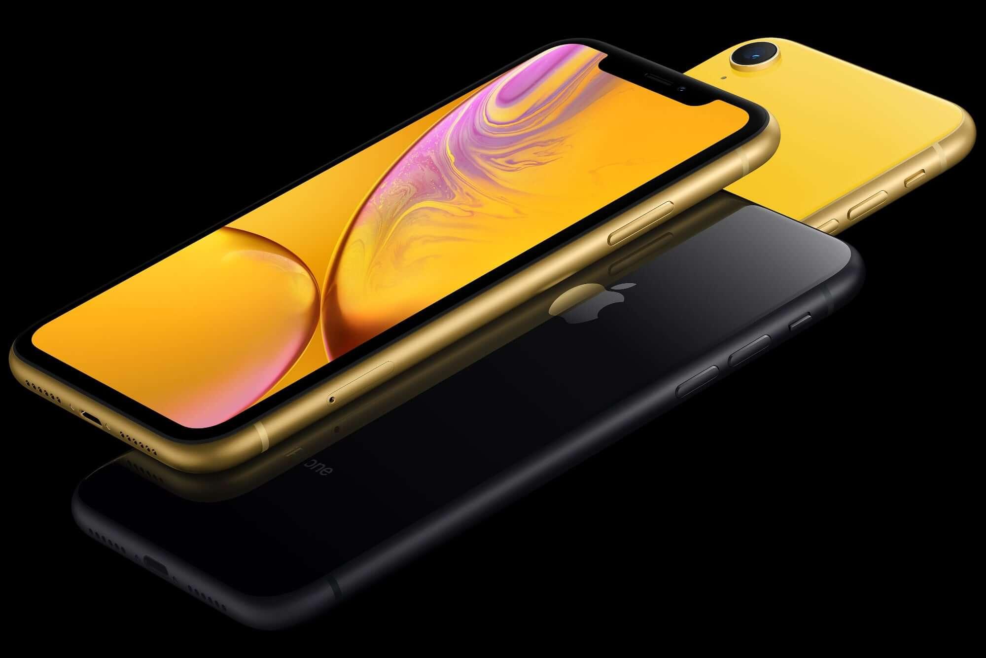 iPhone 11, iPhone XR и iPhone 8_какой из iphone выбрать - дисплей iPhone XR