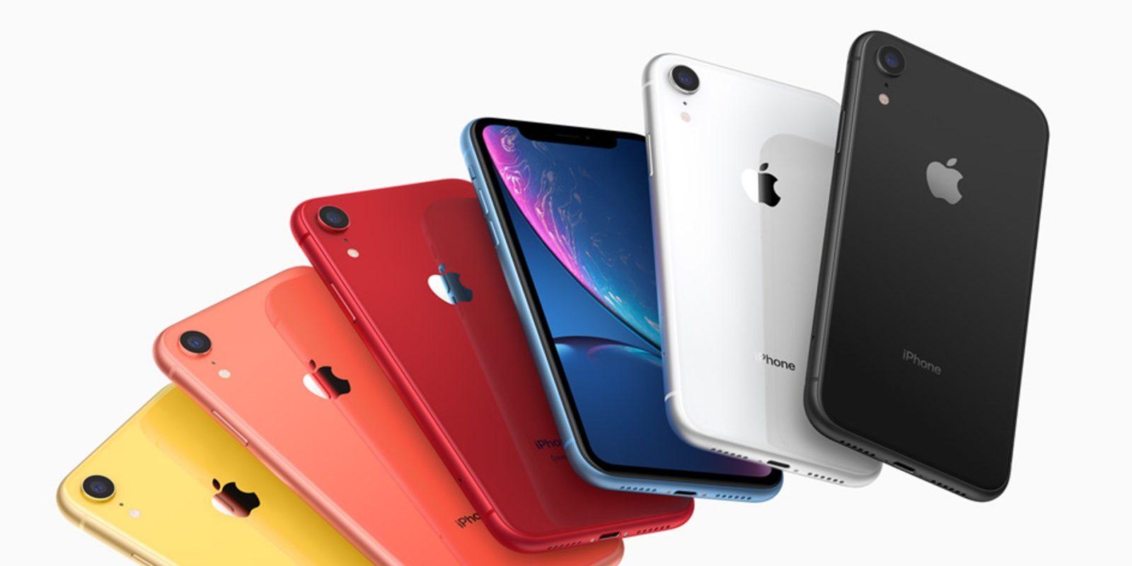 iPhone 11, iPhone XR и iPhone 8_какой из iphone выбрать - iPhone XR в разных цветах
