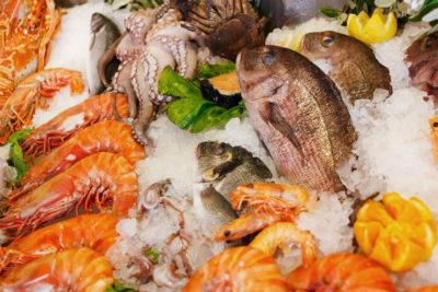 Коктейль из морепродуктов