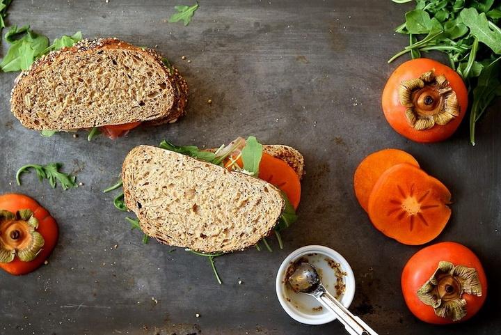 Хурма-сэндвич рецепт