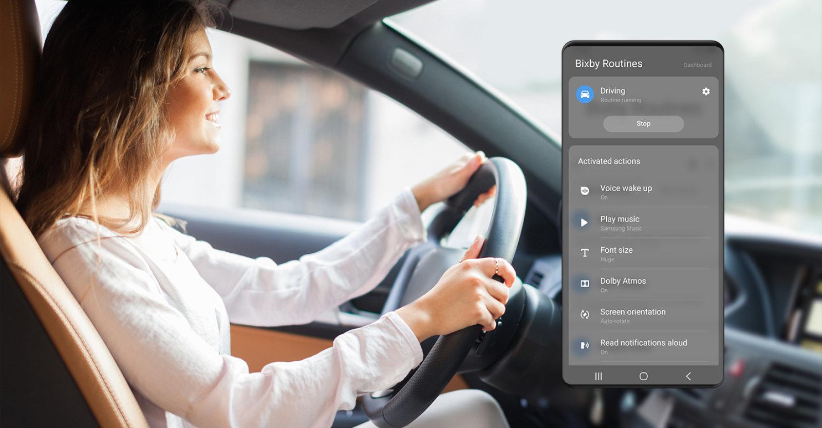 Какими технологии будут в будущем - bixby routines