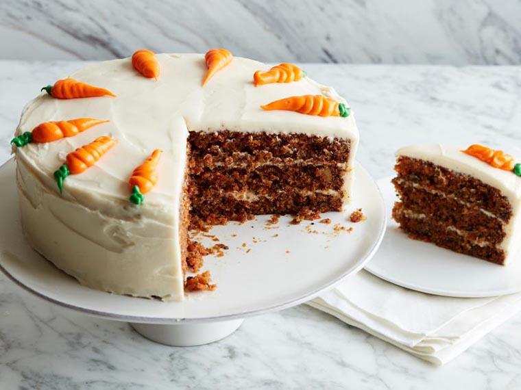 Морковный торт с кремом
