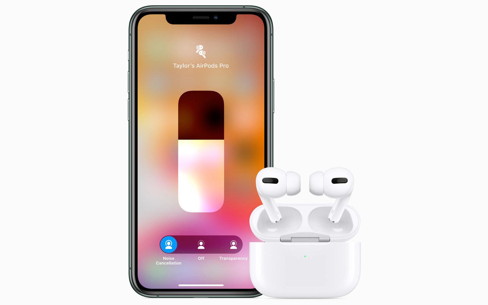 Обзор AirPods Pro_лучшие полностью беспроводные наушники от Apple - наушники со смартфоном
