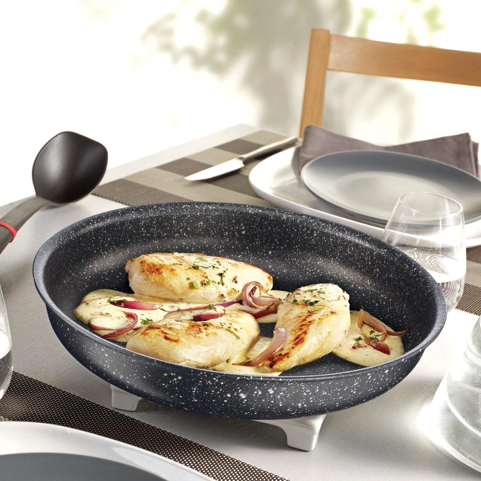 Tefal Ingenio. минимум места_максимум возможностей - готовим на сковороде authentic