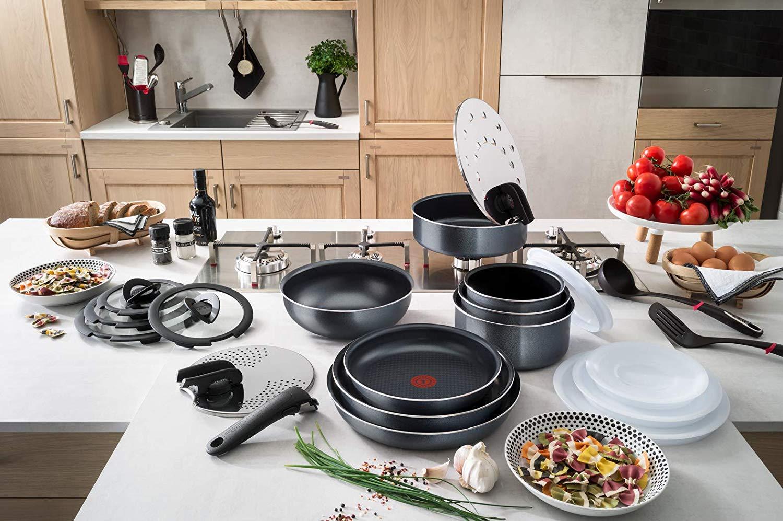 Tefal Ingenio. минимум места_максимум возможностей - посуда elegance на кухне