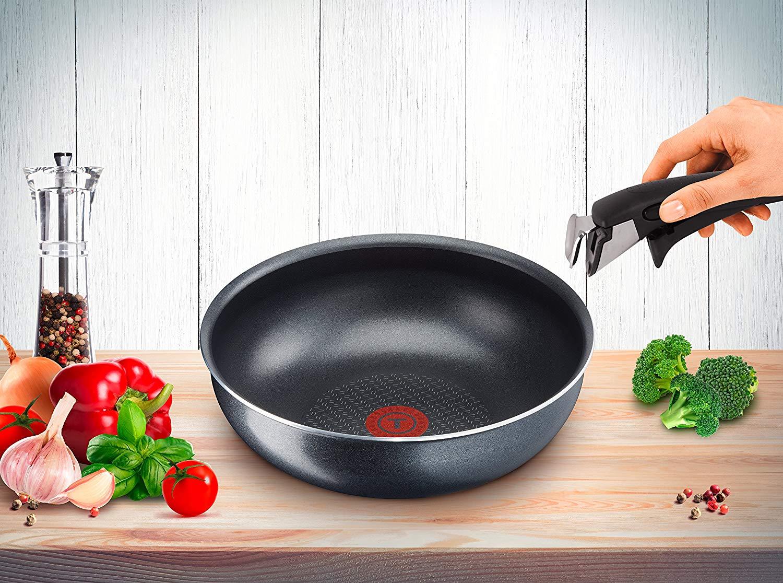 Tefal Ingenio. минимум места_максимум возможностей - сковородка ВОК elegance