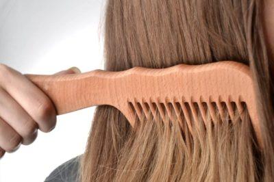 як почистити щітку для волосся