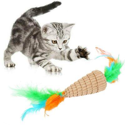 як зробити іграшку для кошеняти в домашніх умовах