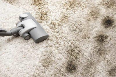 як почистити килим содою