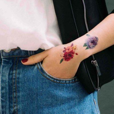 как сделать тату на месяц