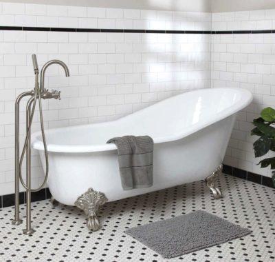 очистити ванну содою та оцтом