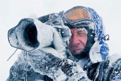Відеозйомка на морозі