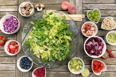 Компоненти на салати