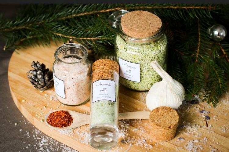 Ароматизированная соль-подарок