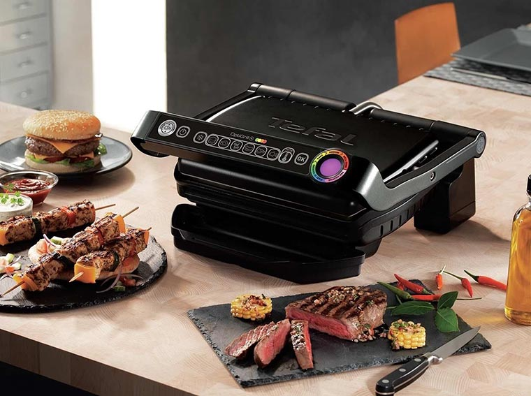 Электрогриль Tefal GC714834 OptiGrill +