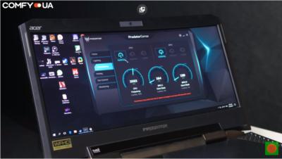 Можливості ігрового ноутбука Acer Predator 21 X