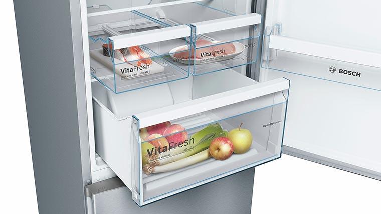 Холодильник Bosch KGN39XI326 боксы свежести