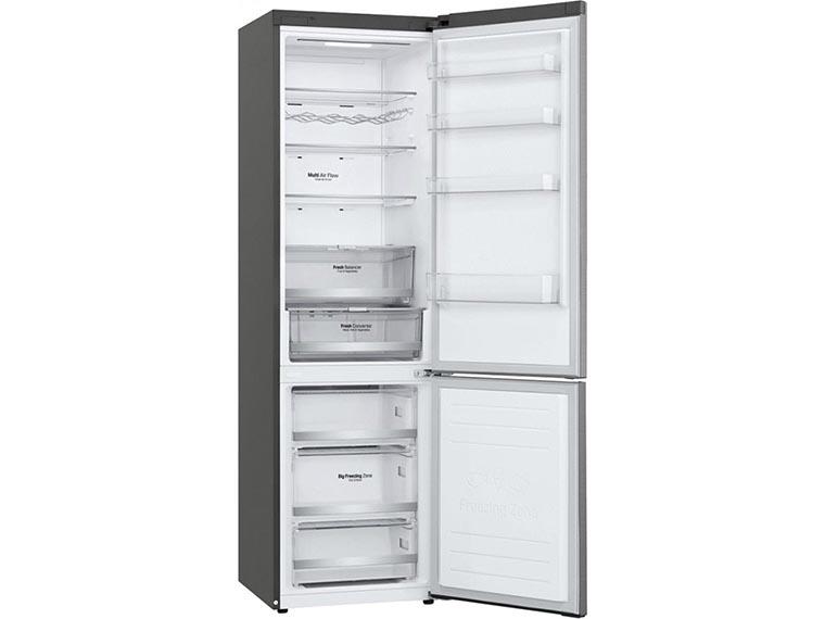 Холодильник LG GW-B509SMDZ изнутри