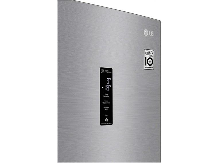 Холодильник LG GW-B509SMDZ панель управления