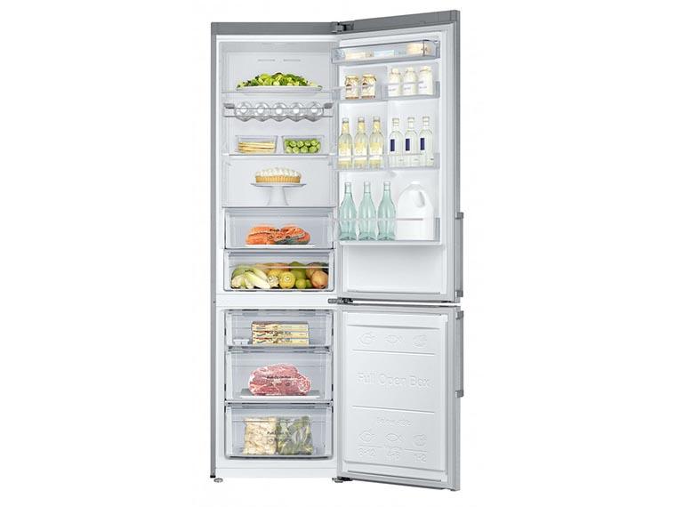 Холодильник Samsung RB37J5340SL UA изнутри