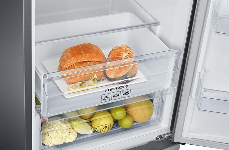 Холодильник Samsung RB37J5340SL UA зона свежести