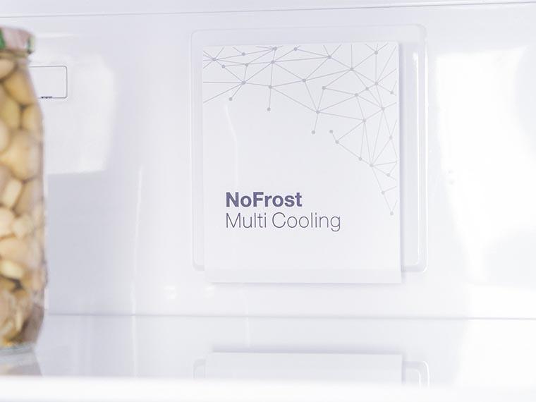 Холодильник Vestfrost CNF186ZW блок ноу фрост