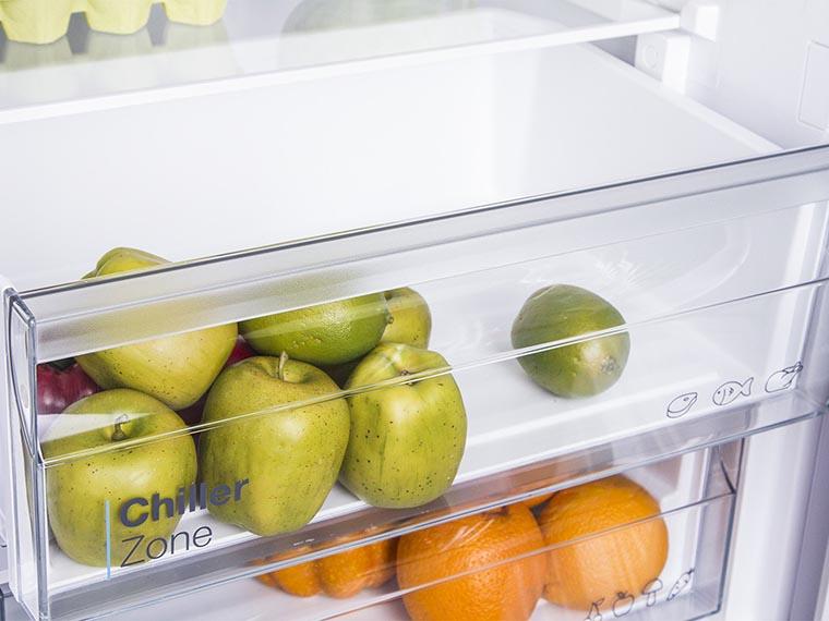 Холодильник Vestfrost CNF186ZW боксы свежести