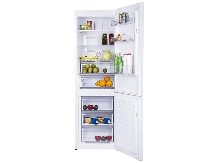 Холодильник Vestfrost CNF186ZW изнутри