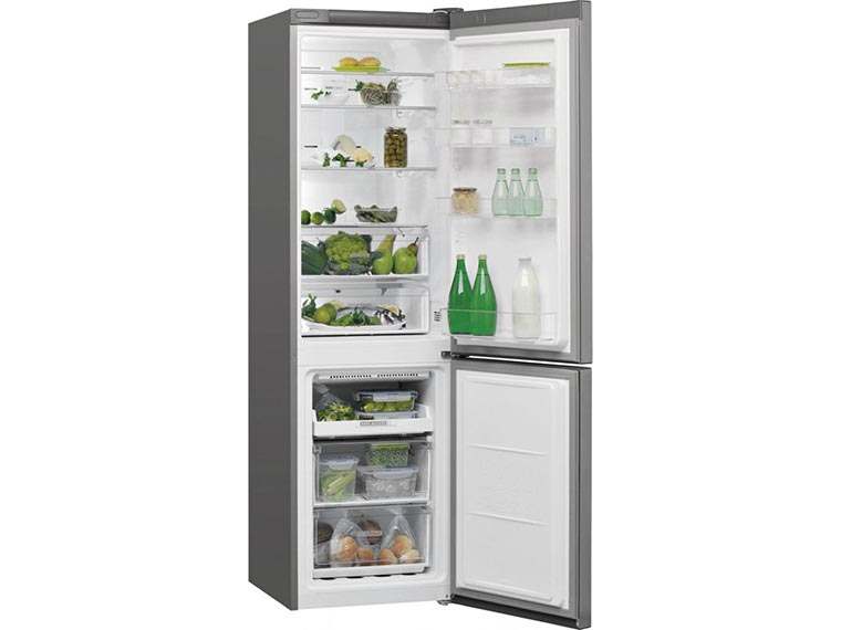 Холодильник Whirlpool W7 911O OX изнутри