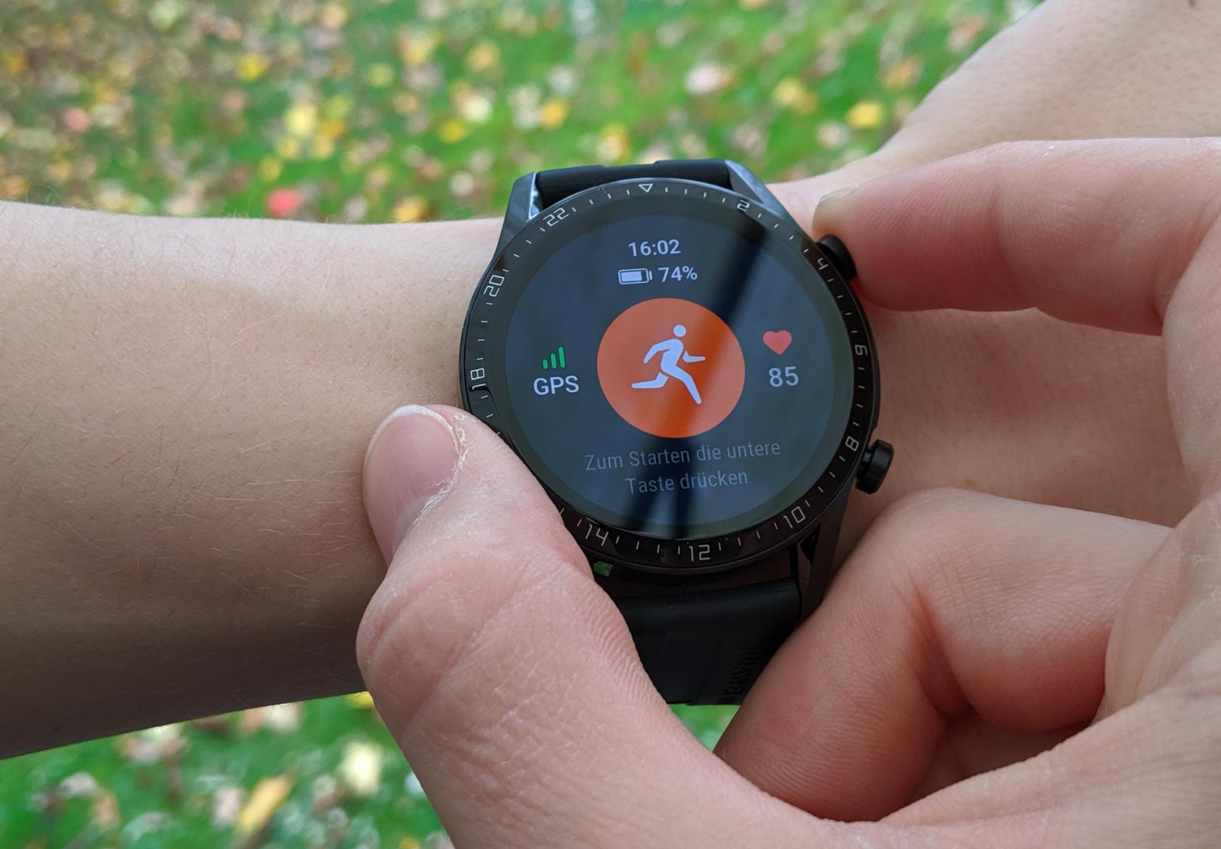 Обзор смарт-часов Huawei Watch GT2 - тренировка со смарт-часами