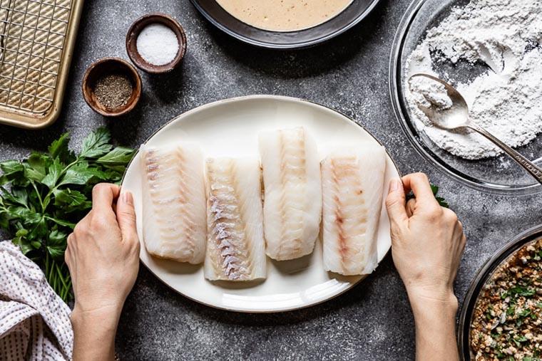 Панировка для рыбы
