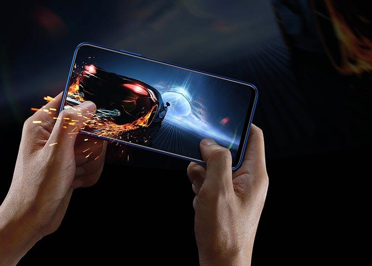 Смартфон Honor 9X 4 128Gb Sapphire Blue графика