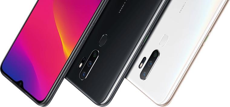 Смартфон OPPO A5 2020 3 64Gb цвета