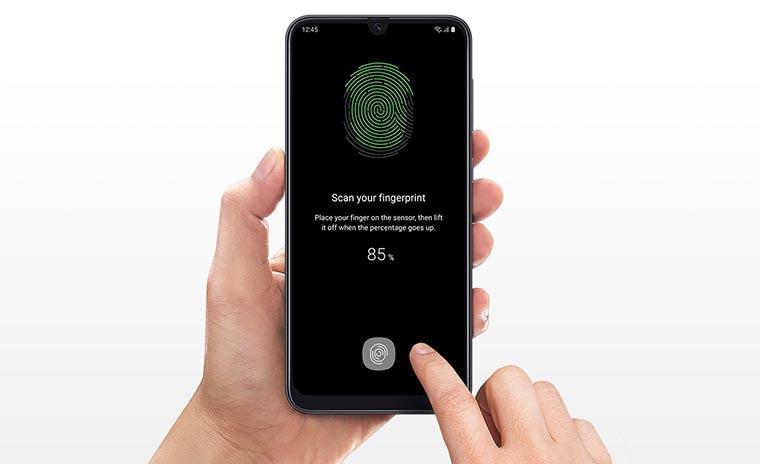 Смартфон Samsung A505 Galaxy A50 4 64Gb Black сканер