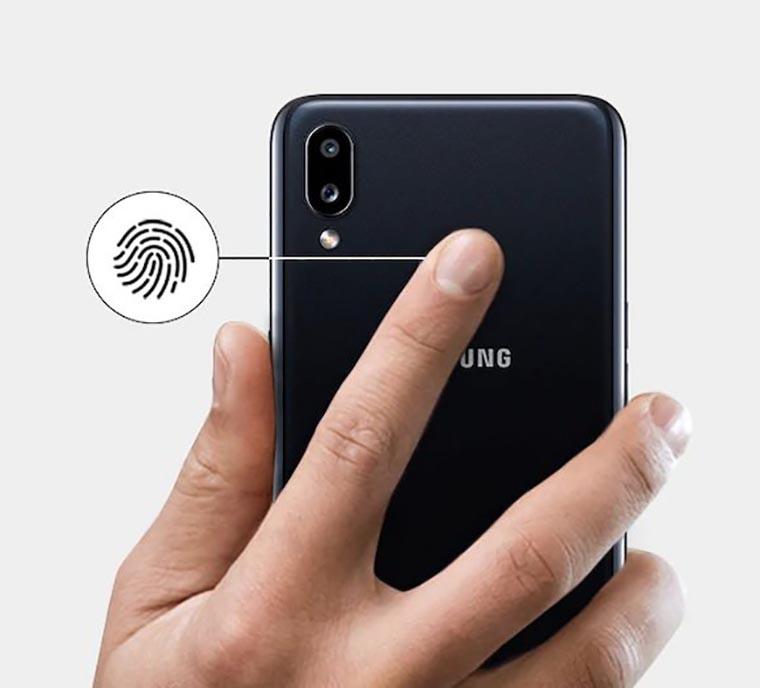 Смартфон Samsung Galaxy A10s 2 32Gb Black сканер