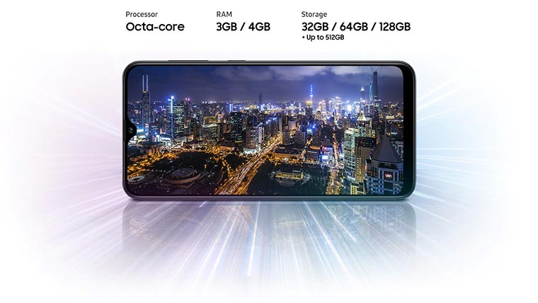 Смартфон Samsung Galaxy A30s 3 32Gb производительность