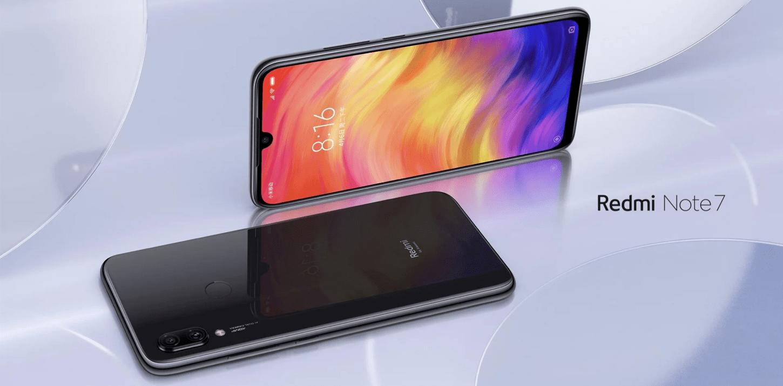 Смартфоны из Китая. Лидеры продаж на конец 2019 года - redmi note 7 черный