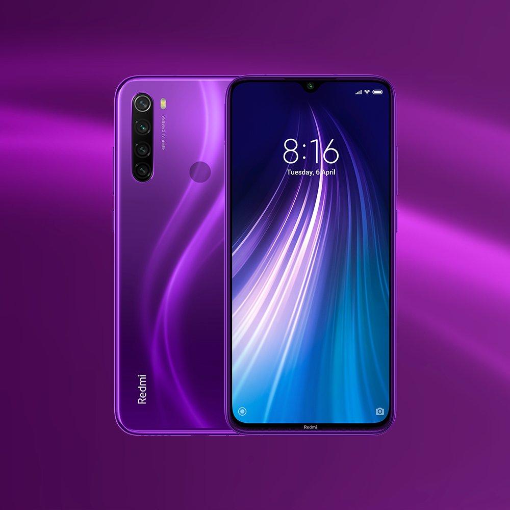 Смартфоны из Китая. Лидеры продаж на конец 2019 года - redmi note 8
