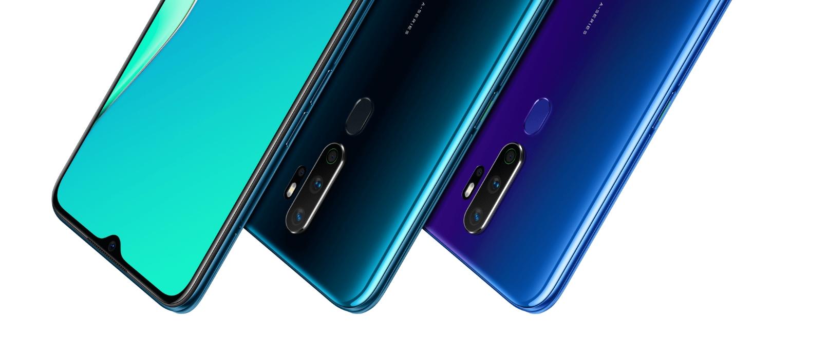 Смартфоны из Китая. Лидеры продаж на конец 2019 года - три смартфона oppo a5 2020
