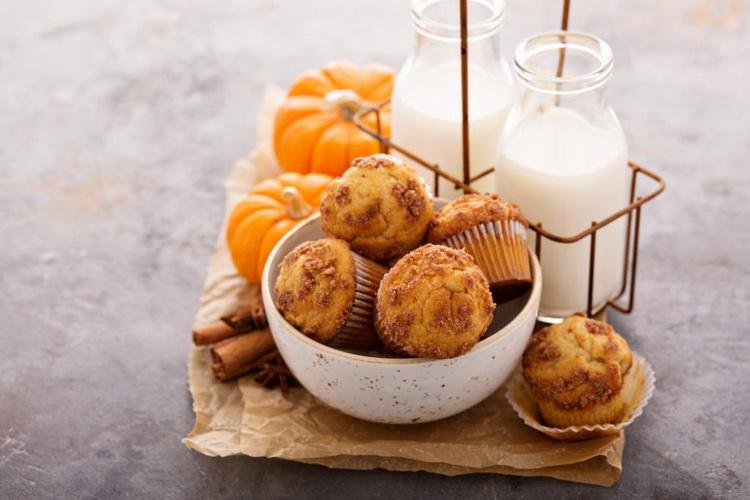 Тыквенные кексы-на десерт