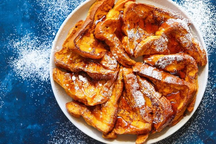 Тыквенные тосты-на десерт